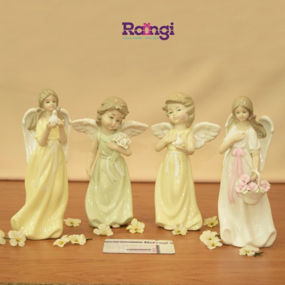 مجسمه فرشته سرامیکی