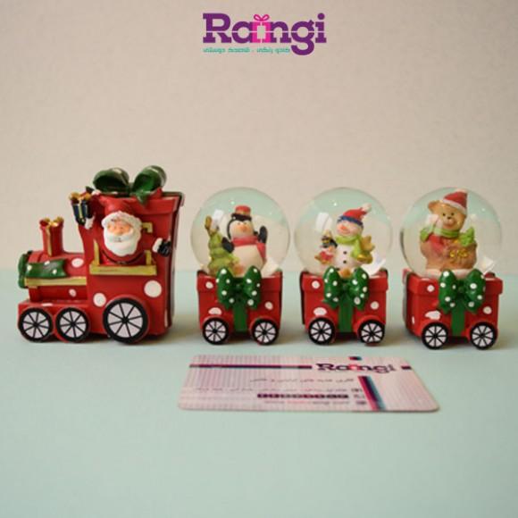 اسنوگلوب قطار کریسمس