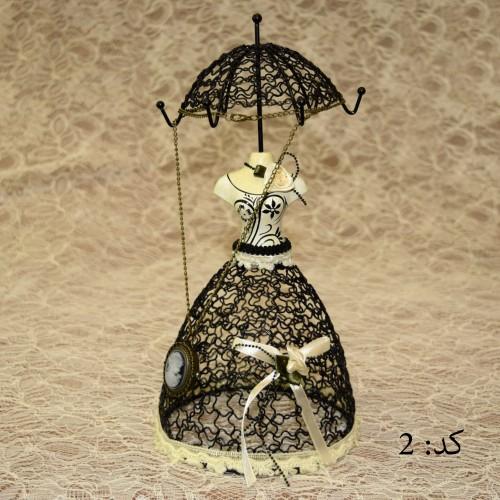 خرید مانکن زیورآلات چتری کد2