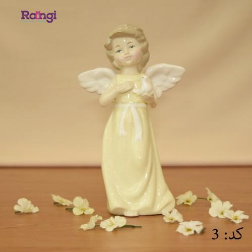 مجسمه سرامیکی فرشته