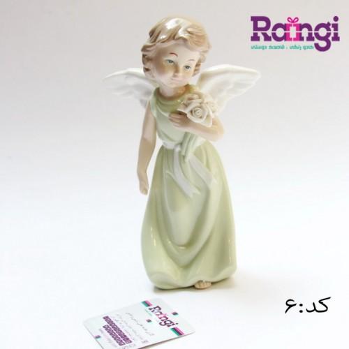 مجسمه فرشته سرامیکی عاشق