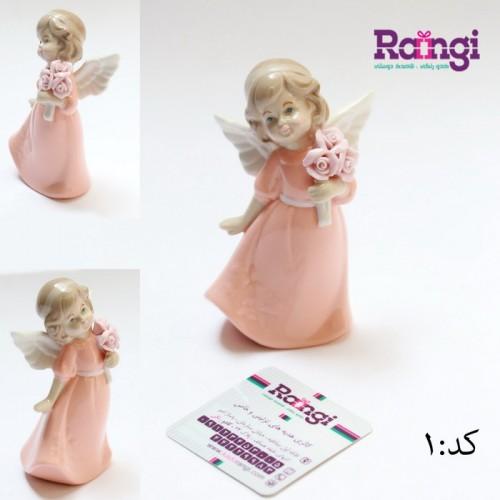 خرید اینترنتی فرشته سرامیکی بالدار