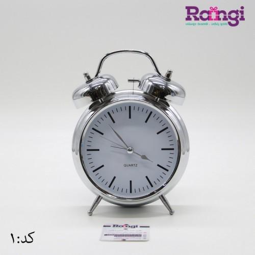 خرید هدیه ساعت کلاسیک نقره ای