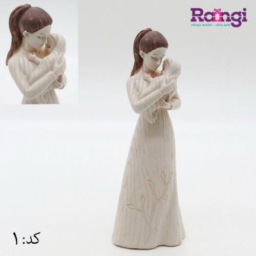 خرید اینترنتی مجسمخ فرشته با کودگ