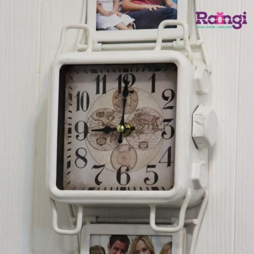 خرید ساعت دیواری مانند ساعت مچی