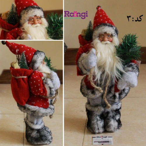 فروش مجسمه بابانوئل کریسمس کوچک