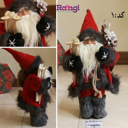 خرید مجسمه بابانوئل کریسمس کوچک