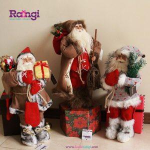 خرید بابانوئل با کلاه و وسایل کریسمسی