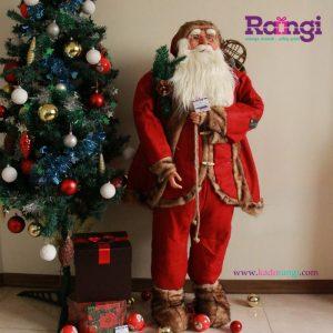 خرید عروسک کریسمسی بابانوئل بزرگ