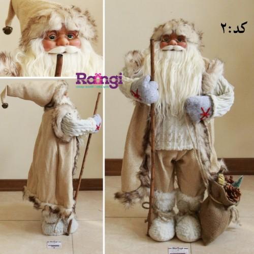 بابانوئل با سایز متوسط کرم
