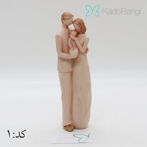 قیمت مجسمه فرشته طرح عشق خانواده