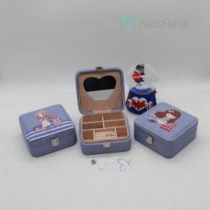 جعبه جواهرات کوچک عروسکی