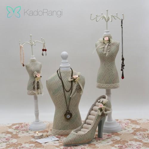 خرید مانکن آویز جواهرات رومیزی