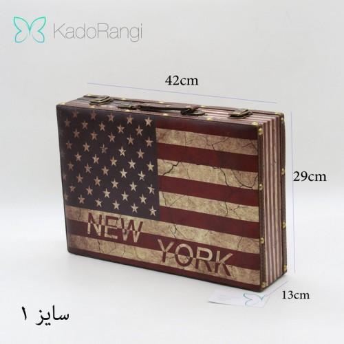 چمدان چوبی فانتزی