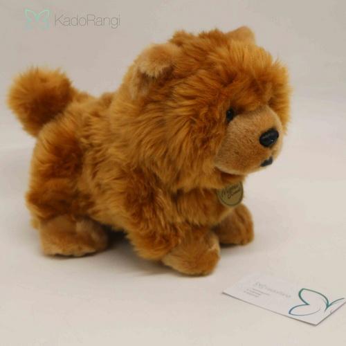 خرید اینترنتی عروسک سگ پشمالو قهوه ای