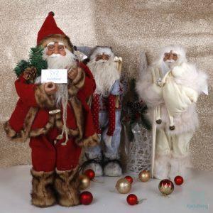عروسک بابانوئل پلاستیکی 60 سانت