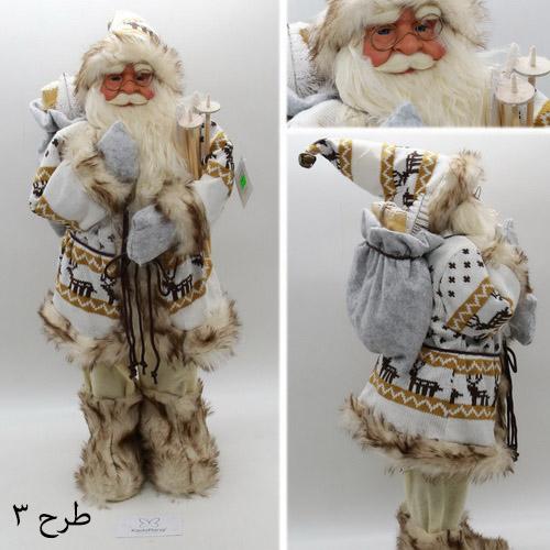 ماکت بابانوئل 60 سانتی با کوله هدایا