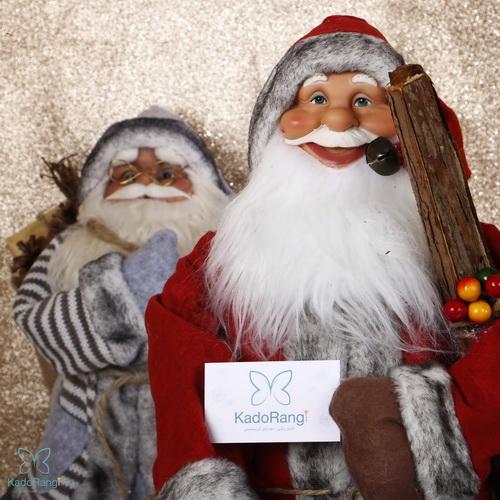 عروسک بابانوئل با قد متوسط مخصوص کریسمس
