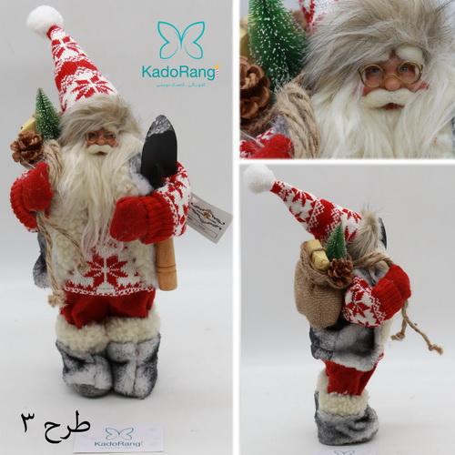 فروش اینترنتی عروسک بابانوئل 30 سانتی