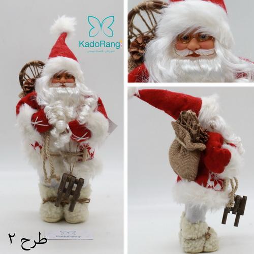 فروش اینترنتی عروسک بابانوئل 30 سانتی کریسمس