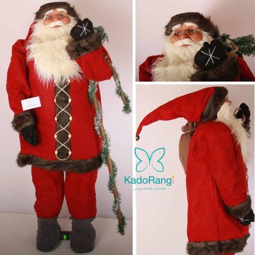 بابانوئل خیلی بزرگ کریسمس با لباس قرمز