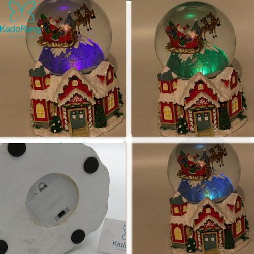 تصاویری دیگر از گوی برفی خانه کریسمسی