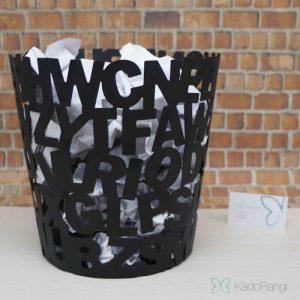 سطل زباله حروف انگلیسی