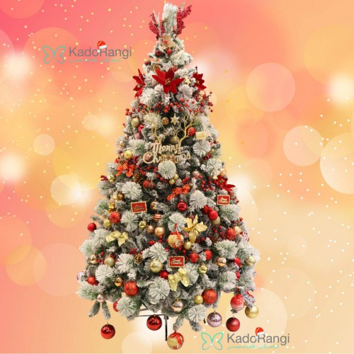 درخت کریسمس 240 برفی