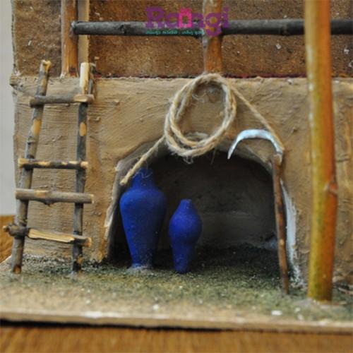 خانه سنتی نمایی از کوزه و داس