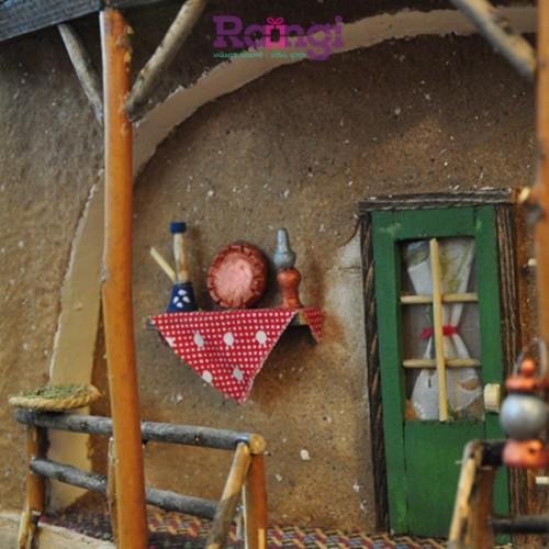 خانه سنتی نمایی از ایوان