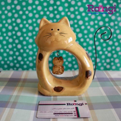 خرید اینترنتی مجسمه گربه فانتزی