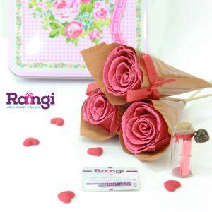 گل رز کاغذی-فروشگاه اینترنتی کادویی