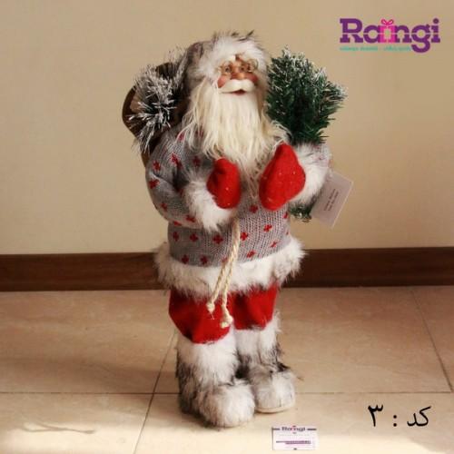 فروش بابانوئل با کلاه و وسایل کریسمسی