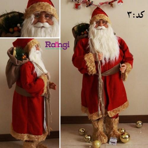خرید بابانوئل با سایز بزرگ کریسمس
