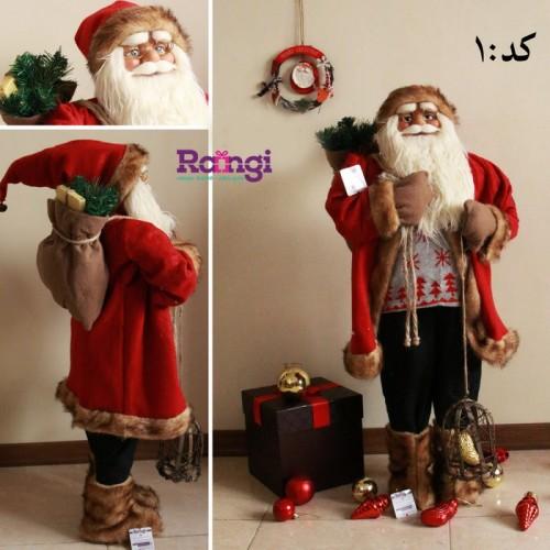 عروسک بابانوئل سایز بزرگ