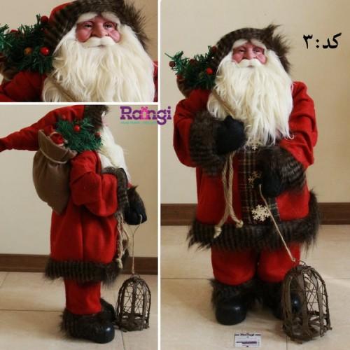 خرید اینترنتی بابانوئل سایز متوسط کریسمس