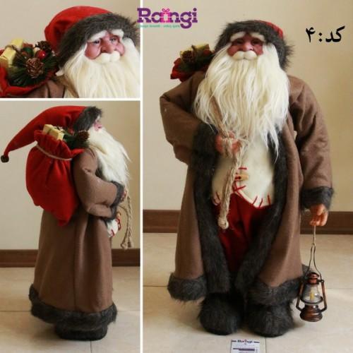 بابانوئل با سایز متوسط قهوه ای