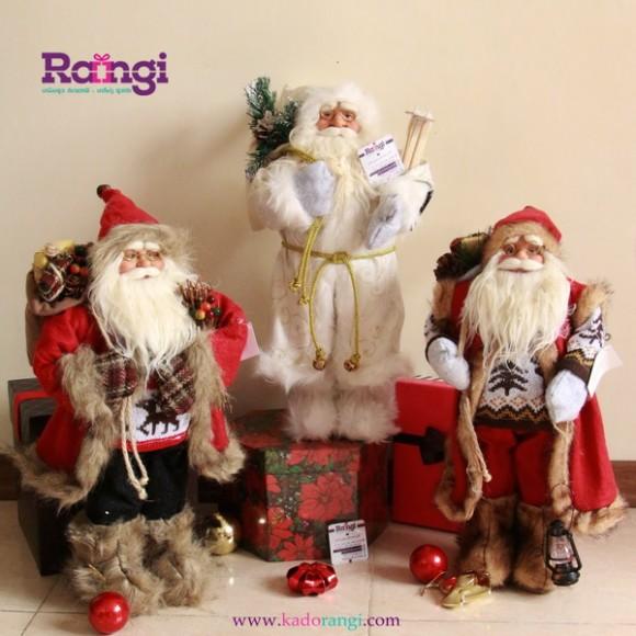 خرید عروسک بابانوئل فانتزی