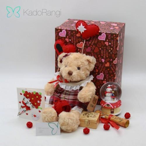 پک عروسک ولنتاین خرس