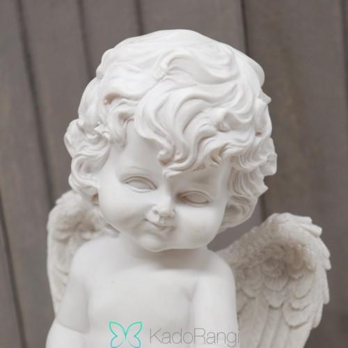 مجسمه فرشته سفید پلی استر