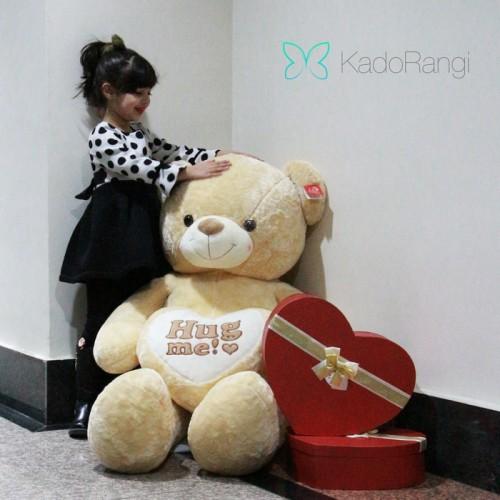 عروسک خرس ولنتاین بزرگ