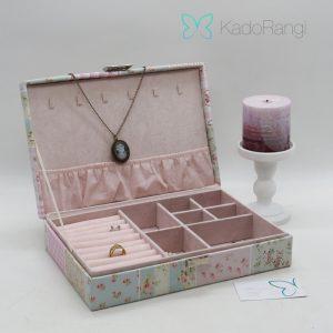 جعبه جواهر بزرگ چرمی