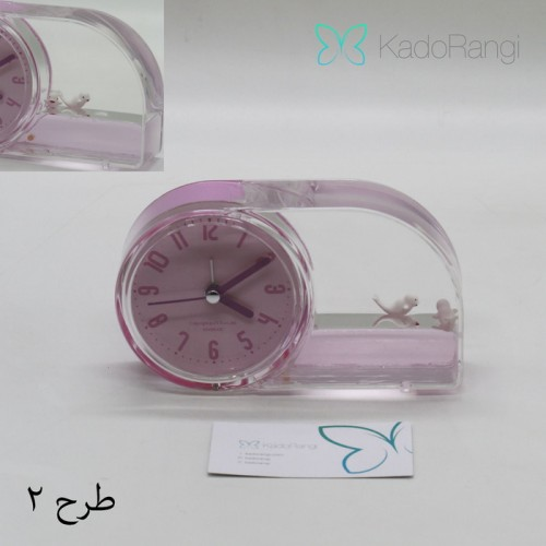 ساعت رومیزی رنگی