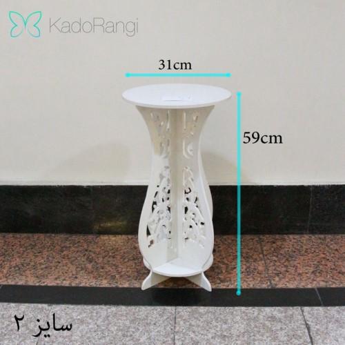 پایه گلدان PVC