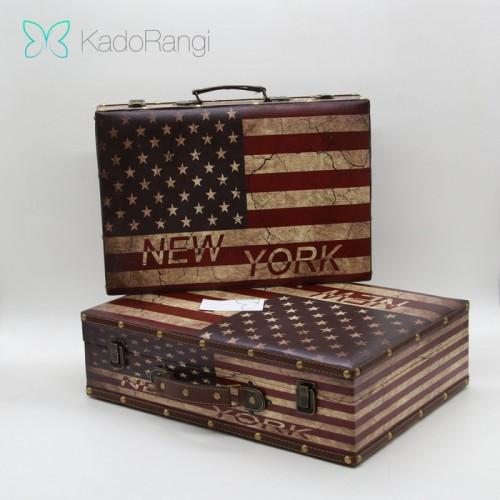 چمدان چوبی