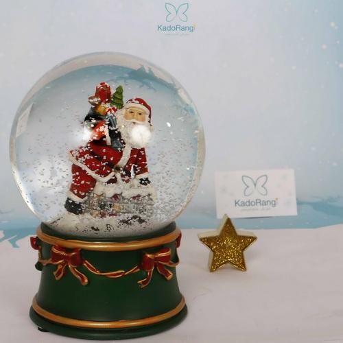گوی برفی بابانوئل با کیسه هدایا