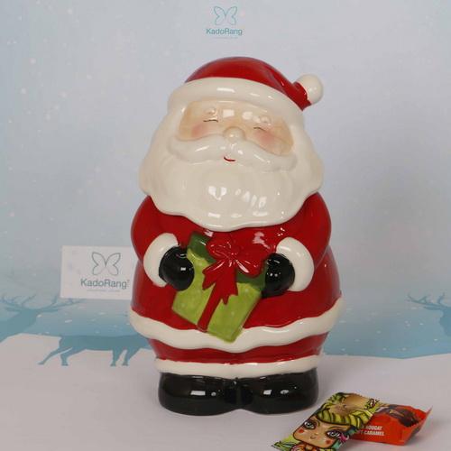 ظرف مجسمه ای درب دار بابانوئل