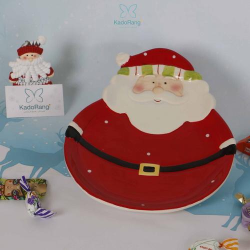 بشقاب قرمز بابانوئل