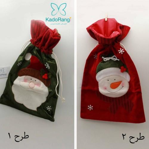 کیسه کادو بابانوئل زیبا
