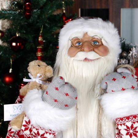 بابانوئل خیلی بزرگ لباس بافتنی